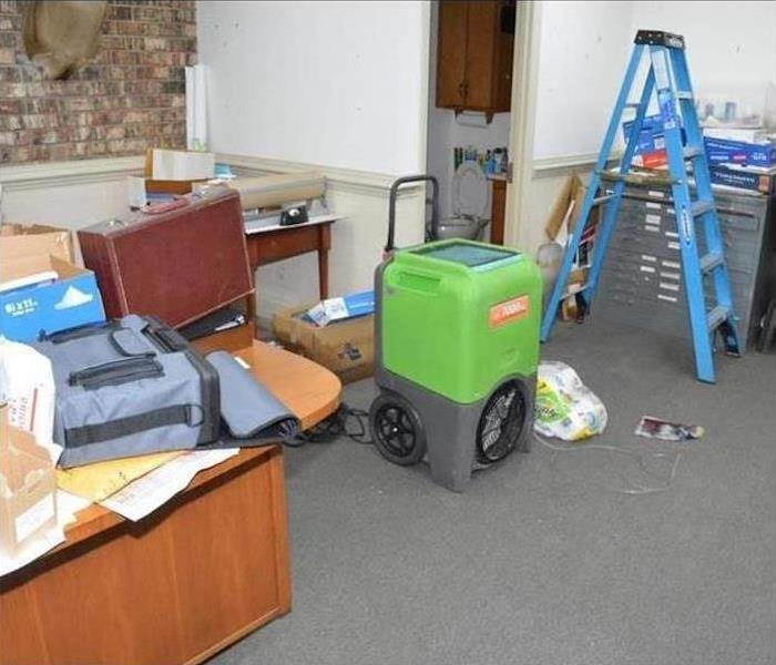 Commercial Water Damage – Naples Office Before