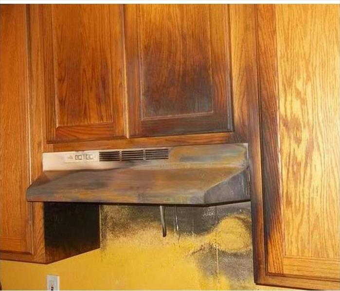 Marco Island and a Fire Damaged Kitchen