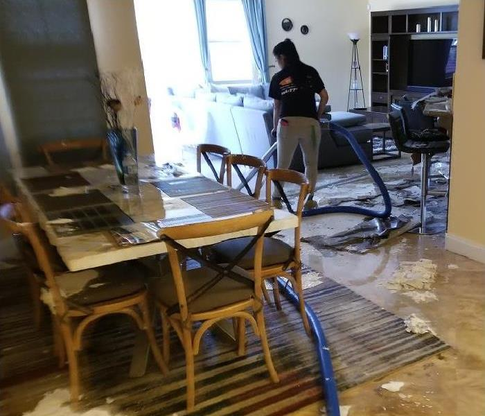 Commercial When Water Damage Occurs at Your Naples Restaurant Overnight
